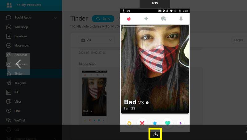 downloading screenshots
