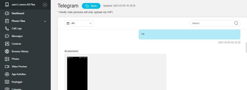 kidsguard pro secret chat telegram