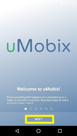 continue setting up umobix