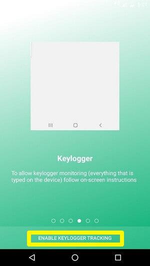 umobix keylogger tracking