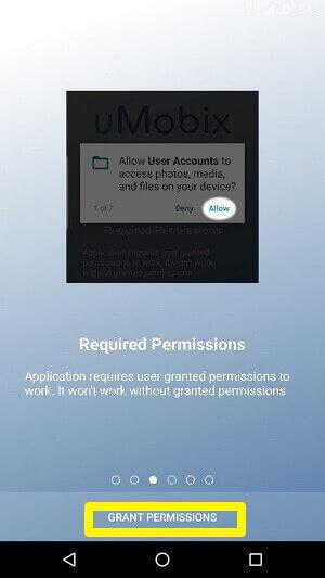 umobix permissions