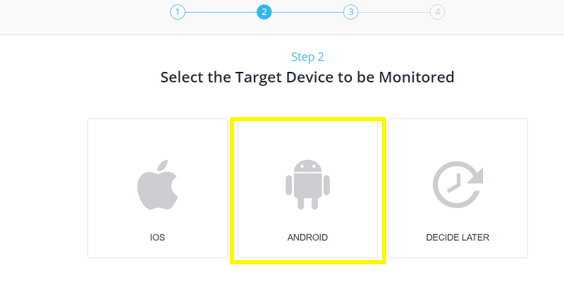 Select the device